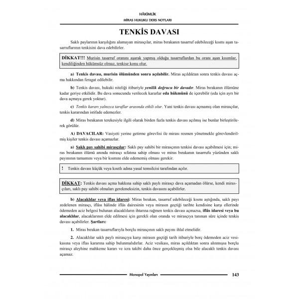MEDENİ HUKUK DERS NOTLARI VE SORULARI – 4-1