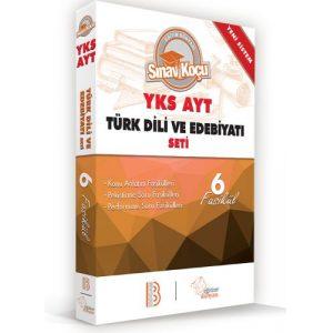 Benim Hocam Yayınları 2019 YKS-AYT Türk Dili ve Edebiyatı Sınav Koçu Konu Anlatımlı 6 Fasikül Set
