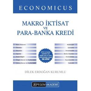 2019 KPSS A Grubu Economicus Makro İktisat ve Para Banka Kredi Konu Anlatımı Pegem Yayınları