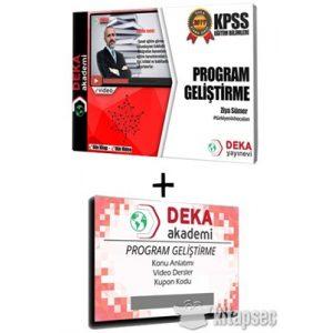 2019-KPSS-Egitim-Bilimleri-Program-Gelistirme-Etkin-Videolu-Ders-Notlari