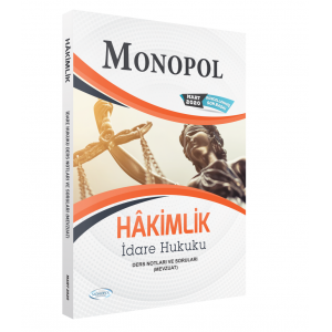 IDARE HUKUKU DERS NOTLARI VE SORULARI (MEVZUAT)_2020 - Kopya