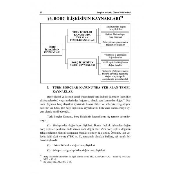BORÇLAR HUKUKU GENEL HÜKÜMLER – 1-1